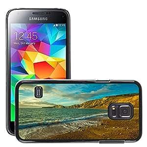 Cas Coq Case Cover // M00421347 Océano Worbarrow Bay Inglaterra Dorset // Samsung Galaxy S5 MINI SM-G800