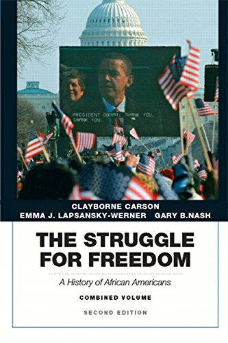 Books : Struggle for Freedom: A History of African Americans, The, Combined Volume (2nd Edition)