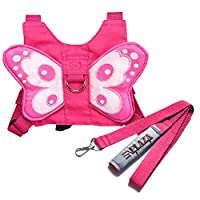 EPLAZA Baby Toddler Walking Safety Butterfly Belt Harness with Leash Child Ki...