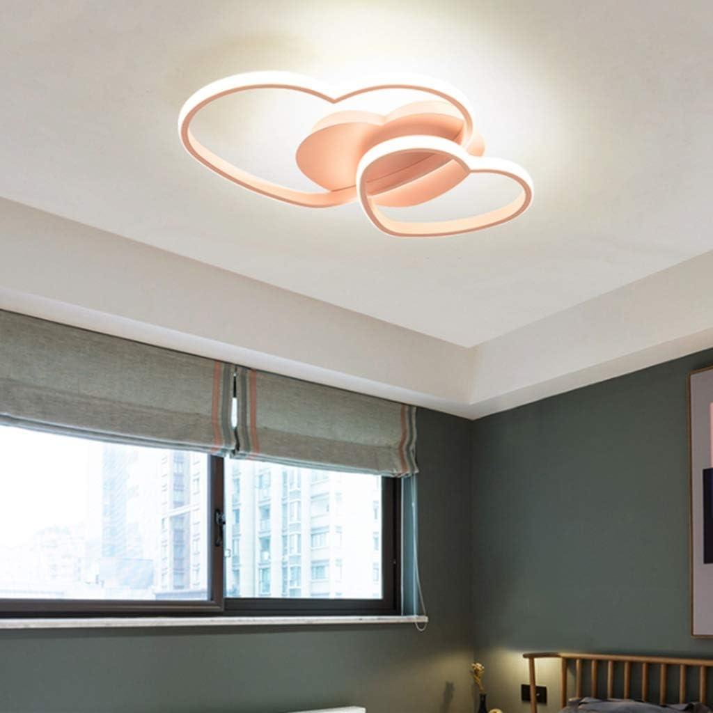 ,Wei/ß LED Deckenleuchte Dimmbar Wohnzimmerlampe Energieklasse A Modern Liebe Herz Design Acryl-Schirm Deckenlampe Metall Kronleuchter F/ür Esszimmer Schlafzimmer Bad K/üche Decken Leuchten
