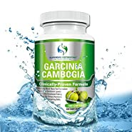 Garcinia Cambogia Extract by Supreme Potential ? 180 Vegan Capsules ::100% Pure HCA; 1500mg ::The Best Weight Loss Supplements::Natural Appetite Suppressant - 100% Money Back Guarantee