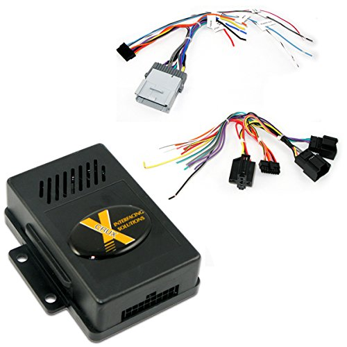 CRUX SOCGM-18B Radio Replacement Interface for Select GM LAN 11-Bit Vehicles ()