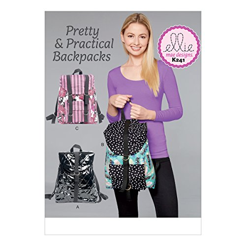 KWIK-SEW PATTERNS K0241OSZ Backpacks Sewing Pattern, One Size