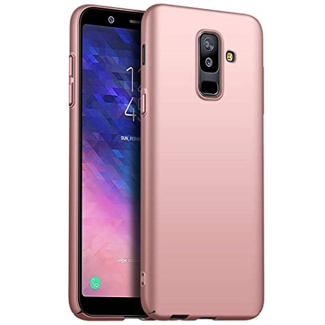 JUNHENG Funda Samsung Galaxy A6 Plus,PC Duro Case Carcasa de ...