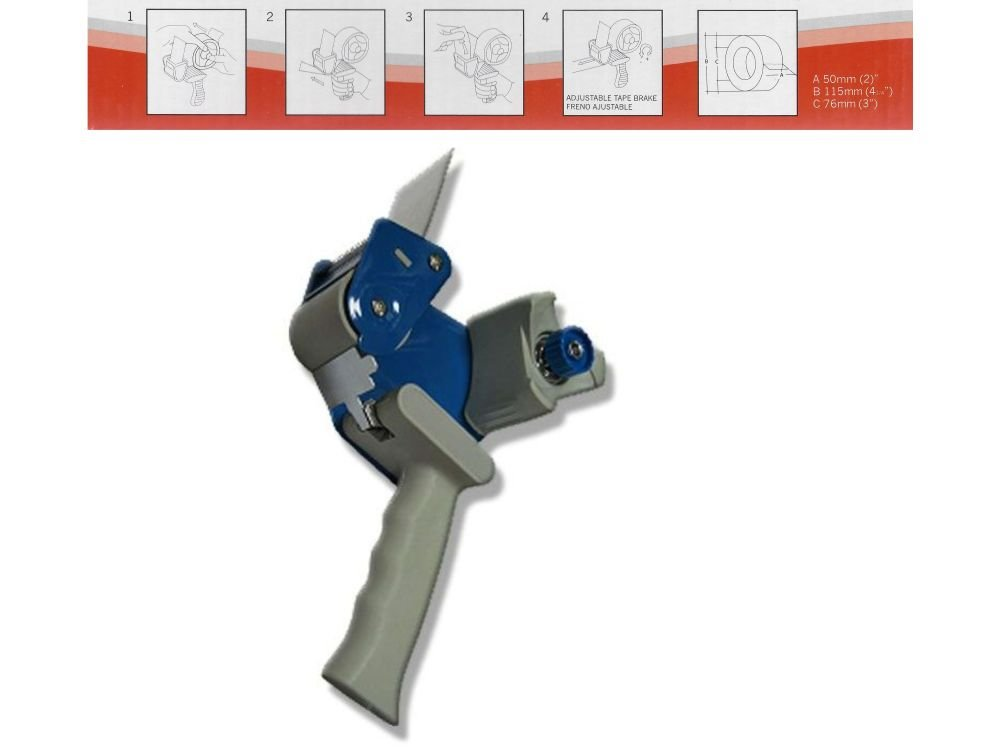 FORCEL Precintadora Maquina Metal Plastico 23cm