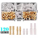 Kinstecks 120PCS 3.5mm Bullet Connectors Kit