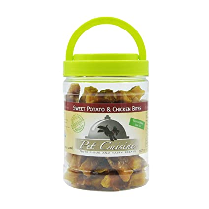 Pet Cuisine Premium Dog Treats Puppy Chews Snacks, Sweet Potato & Chicken  Strips