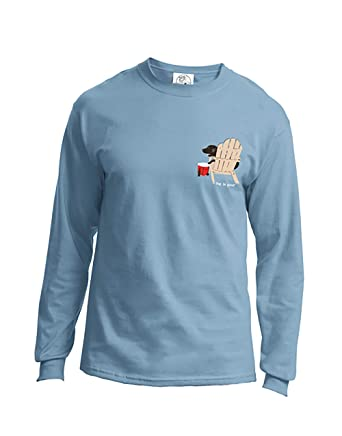 562fc93e3 Amazon.com: Dog is Good Never Drink Alone Unisex Long Sleeve T-Shirt - Great  Gift for Dog Lovers: Clothing