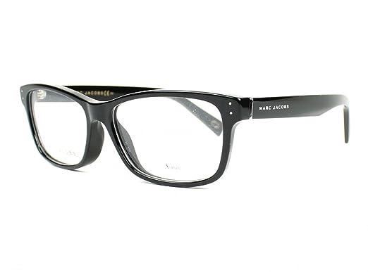 a1dec7c432 Amazon.com  Marc Jacobs Marc 127 0807 Black Eyeglasses  Clothing