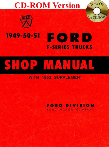 1949-52 Ford Truck Shop Manual (Ford Heavy Truck)