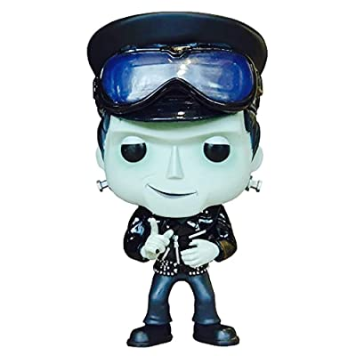Funko Pop! TV: The Munsters - Herman Munster (Biker) Exclusive: Toys & Games