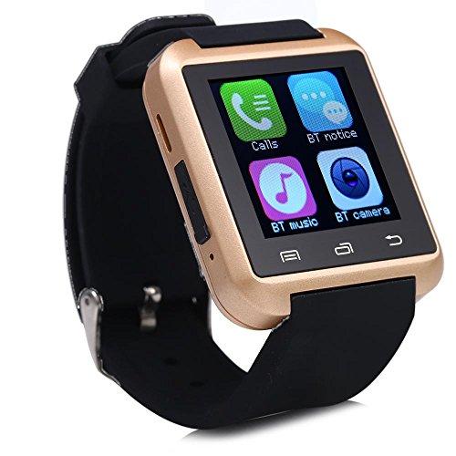 U80 Bluetooth reloj inteligente llamada potable recordatorio sedentario reloj de pulsera: Amazon.es: Jardín
