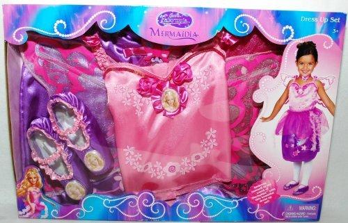 [Barbie Fairytopia Mermaidia Dress Up Set. Dress Up Like Elina1 (1 Each)] (Fairytopia Barbie Costume)