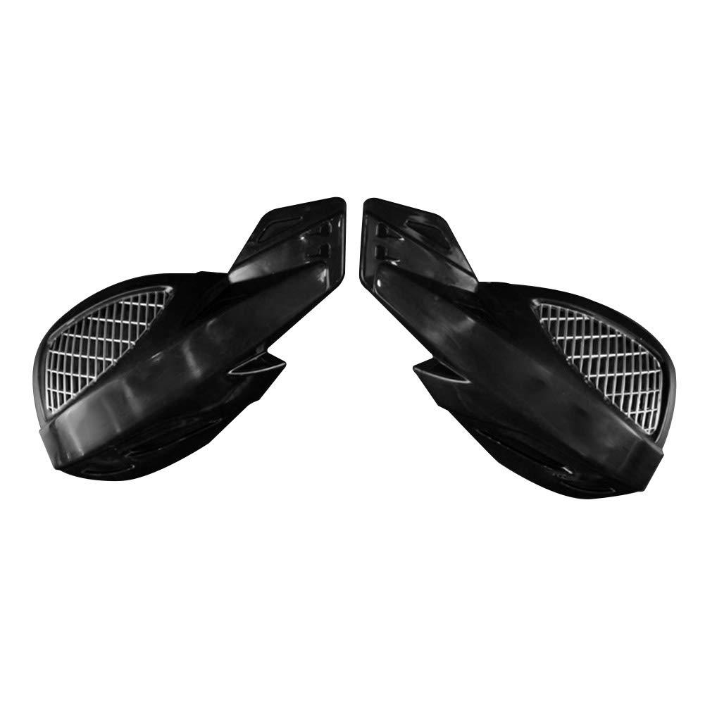 Faderr Universal Motorrad Handsch/ützer winddichter Kunststoff Shield Dirt Bike Protector Lenker Kunststoff Motorrad Winddicht Handprotektoren f/ür Motocross Enduro Handb/ürsten Guards Dirt Bike