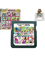 $29 » 520 in 1 Game Cartridge, DS Game Pack Card Compilations, Super Combo Multicart for Nintendo DS, NDSL, NDSi, NDSi LL/XL, 3DS, 3DSLL/XL, New 3DS, New 3DS LL/XL, 2DS, New 2DS LL/XL