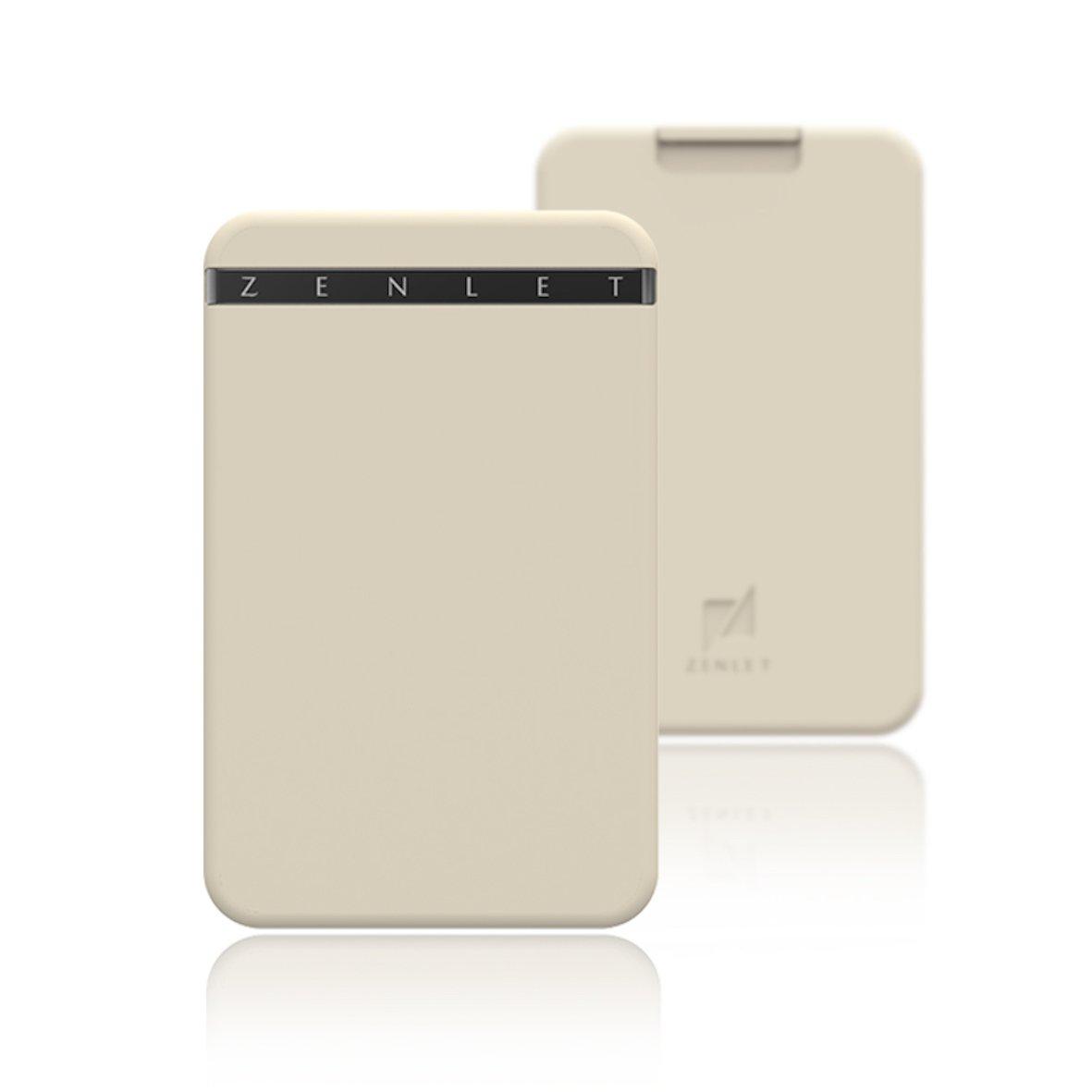 Zenletミニマリストカードウォレット 小さい財布 グッドデザイン賞 B06Y5KLBK6 バニラ バニラ