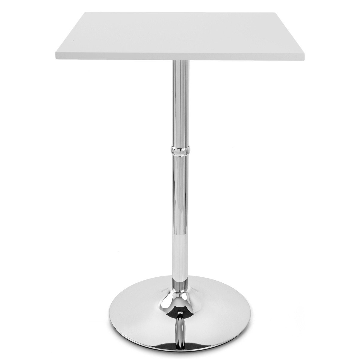 Atlantic Shopping Sovereign Square Bar Table White