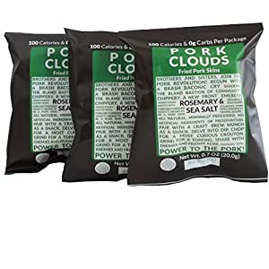 Pork Clouds - Set of 3 (Rosemary & Sea Salt)