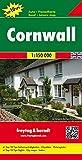 Cornwall, Autokarte 1:150.000, Top 10 Tips, freytag & berndt Auto + Freizeitkarten