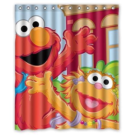 Lovely Sesame Street Custom Shower Curtain 60quot