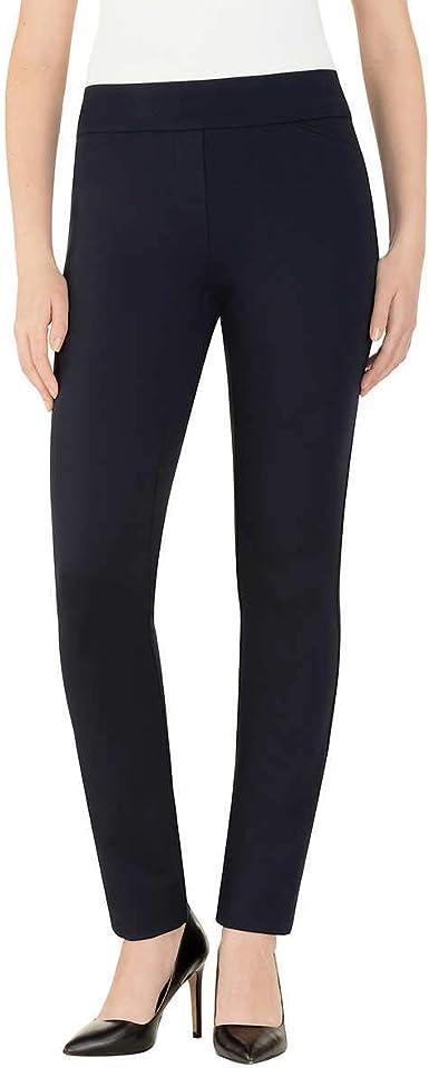Amazon Com Dalia Pantalones De Tirantes Para Mujer Talla M Color Azul Marino Clothing