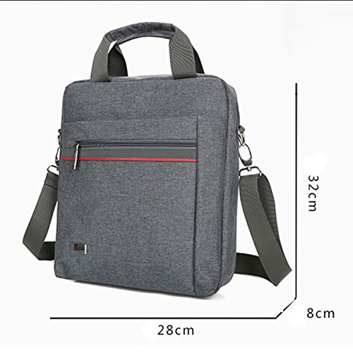 Fashion Practical Durable Classic Bag Black Men Satchel Cloth Shoulder Inclined Multicolor For Oxford Convenient EEprxwq