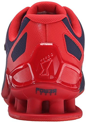 Inov-8 Men's Fastlift™ 325-M Cross-Trainer Shoe, Navy/Red, 12 M US Photo #8
