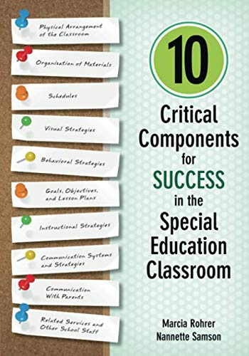 10 Critical Components for Success in the Special Education Classroom (Best Law Schools In Canada)