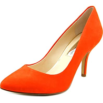 INC International Concepts Womens ZITAHPNK Pointed Toe Classic Papaya Size 7.5