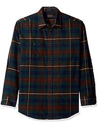 Men's Long Sleeve Button Front Hawthorne Flannel Shirt