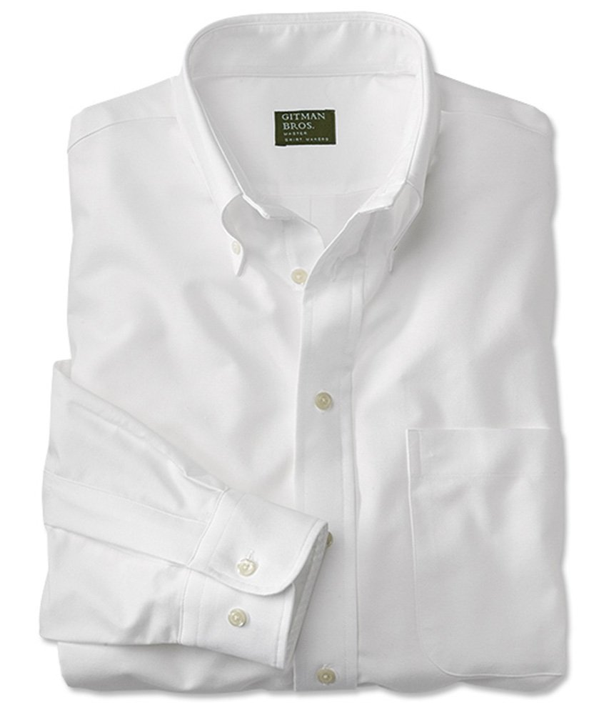 Orvis Gitman Oxford Shirt, White, Large