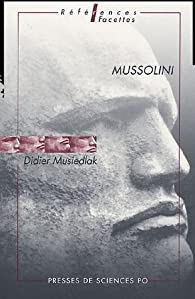 Mussolini par D. Musiedlak