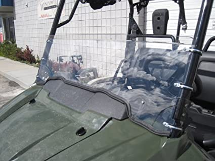 Honda Pioneer 700 14quot Tall Half Windshield DOES NOT FIT HONDA PIONEER 500 Or