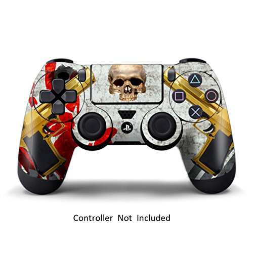 Skins for PS4 Controller - Stickers for Playstation 4 Games - Decals Cover for PS4 Slim Sony Play Station Four Controllers PS4 Pro Accessories PS4 Remote Wireless Dualshock 4 Skin (Black Ops One Piece)