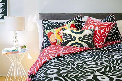 Vita Good Life IVTVITA03330 Multiple Piece Reversible Comforter Set, King, Otomi, 7