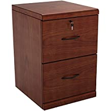 Z-Line Designs 2-Drawer Vertical File Cherry Cabinet with Black Accents