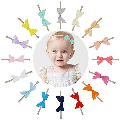 "Prohouse 16PCS 2.5"" Baby Nylon Headbands Hairbands for sale  Delivered anywhere in USA"