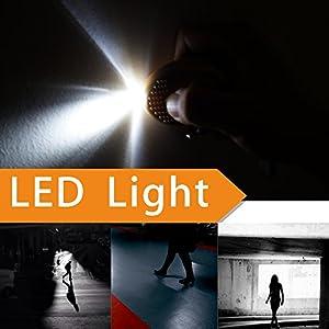 Emergency Security Alarm Keychain with LED Flashlight - Flashlight