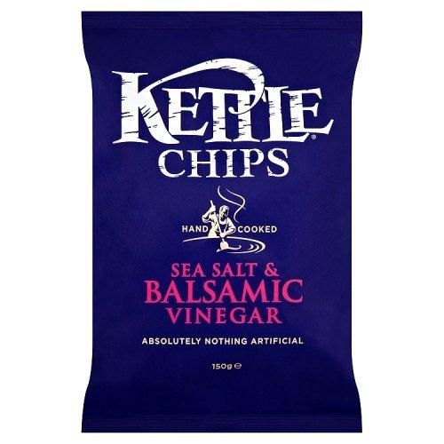 Kettle Chips Balsamic Vinegar & Sea Salt 150g