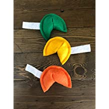 St. Patties Day Fortune Cookie Cat Toy with Organic Catnip - 3 Pack