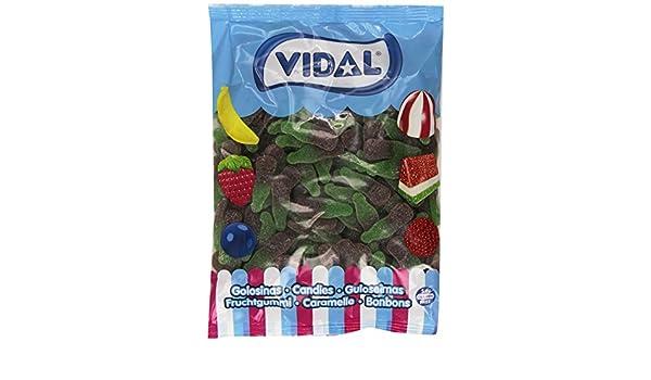 Vidal - Botellas Cola Azúcar - Caramelo de goma - 1 kg ...