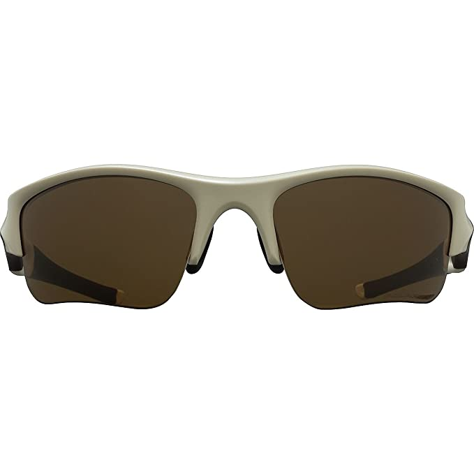 73502b1e8e Amazon.com  Oakley Flak Jacket XLJ Polarized Sunglasses Desert Tan Frame   Bronze  Polarized Lens 53-100  Clothing