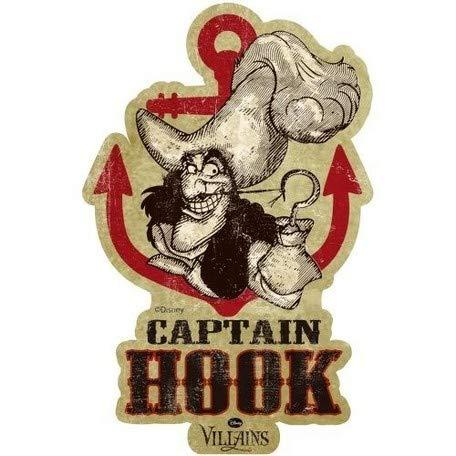 (Peter Pan Travel Sticker / 11 Captain Hook Villains/Peter Pan Travel Sticker / 11 Captain Hook Villains)