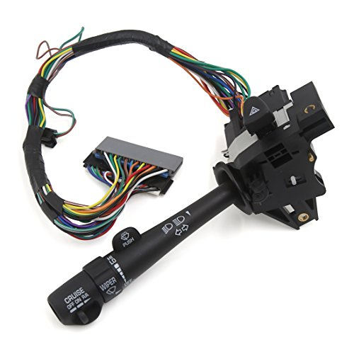 uxcell Turn Signal Switch Cruise Wiper Hazard Multi-Switch Lever 26085929 for Buick Regal Century