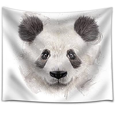 Unbelievable Piece, Premium Product, Fun and Colorful Splattered Watercolor Panda Bear