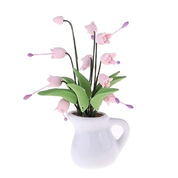 Fenteer Vase Miniature Dollhouse Meuble pour Salon de Maison ...