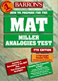 How to Prepare for the MAT-Miller Analogies Test, Robert J. Sternberg, 0764104594