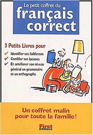 Lire Le petit coffret du français correct Coffret 3 volumes :  Volume 1, La conjugaison correcte. Volume 2, Le français correct. Volume 3, Les tests du français correct pdf, epub ebook