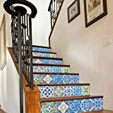 Sticker Tile Stickers Decals Carrelage Adhésif Fliesenaufkleber Stair S S Escalier Carrelage Autocollant Peel & Stick Vinyl Adhesive Tiles(Set 12 Units)