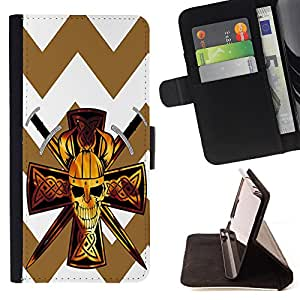 Dragon Case - FOR Sony Xperia Z3 D6603 - Pardon all men - Caja de la carpeta del caso en folio de cuero del tir¨®n de la cubierta protectora Shell